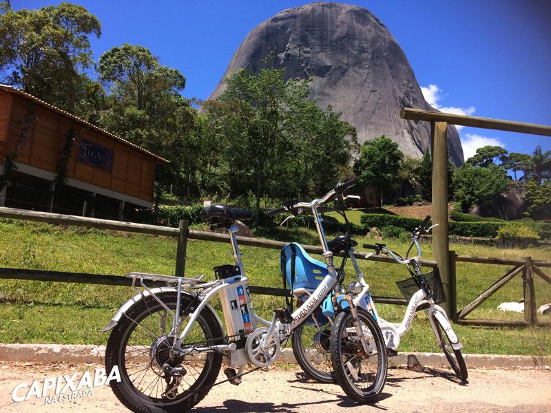bicicleta pedra azul ecotur
