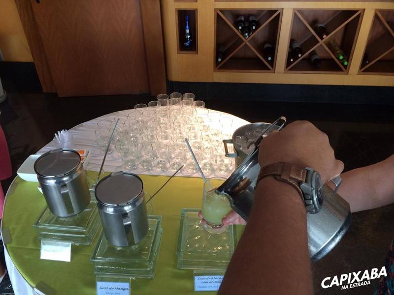 almoço no hotel senac ilha do boi