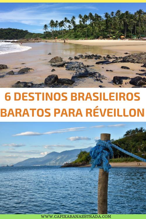 6 Destinos baratos para passar o Réveillon no Brasil