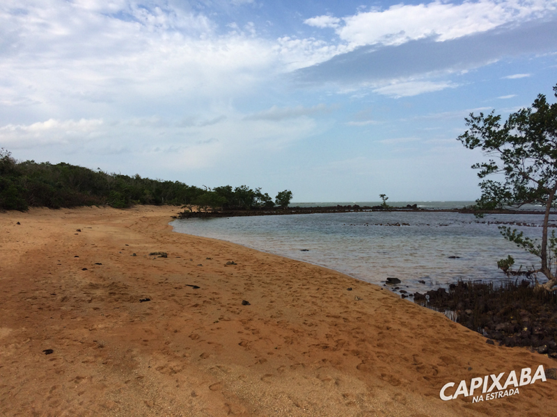 Praia de Gramuté - O que fazer em Aracruz