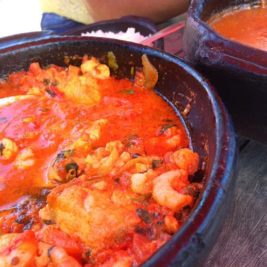 Silva's restaurante praia de carapebus