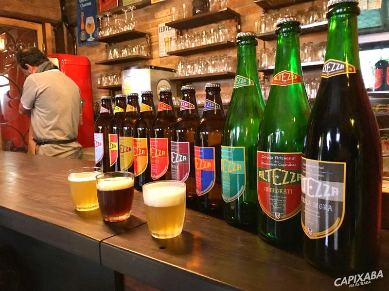 Degustação de Cerveja na cervejaria Altezza em Venda Nova do Imigrante