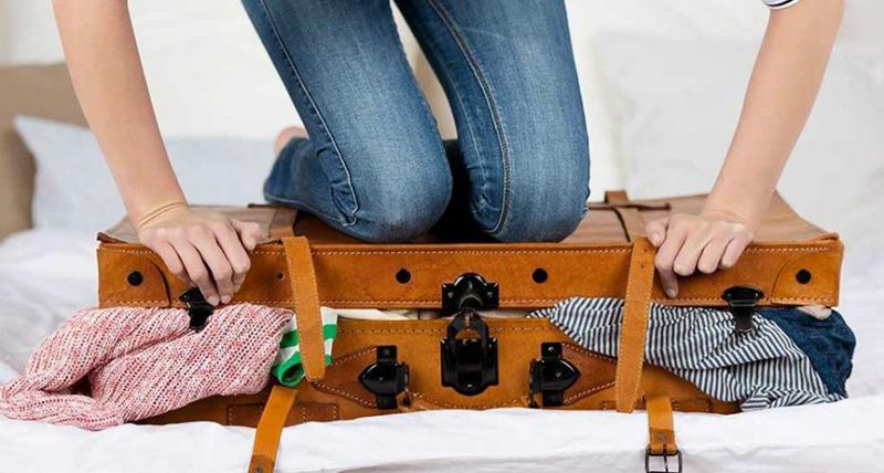 Como arrumar uma mala de viagem pequena