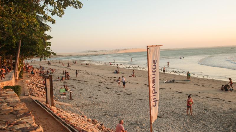 praias para passar o réveillon no Brasil - Jericoacoara