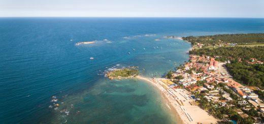 praias para passar o réveillon no Brasil - Morro São Paulo