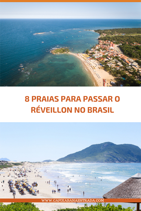 praias para passar o réveillon no Brasil
