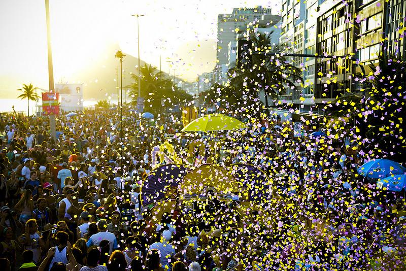 Blocos de rua do carnaval do Rio 2019